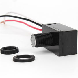 Raintight Optical Sensor External Photocell Switch , Safety Outdoor Photoelectric Switch